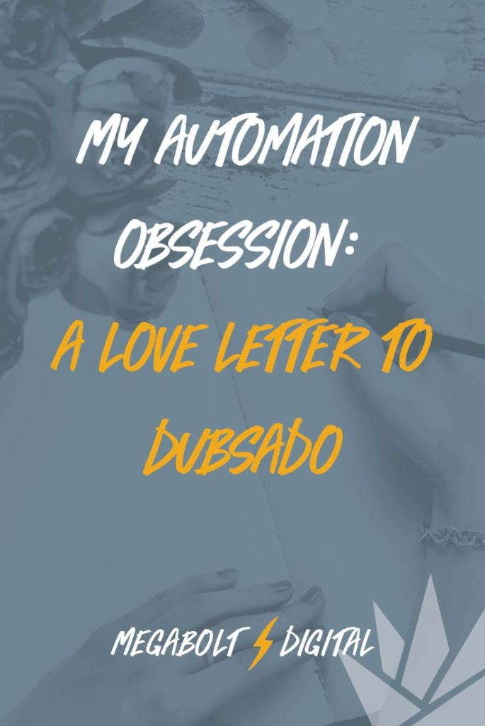 Dubsado has made my customer onboarding process easier & less stressful, because it automates my intake, proposals, contracts & invoices.