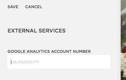 how to add Google Analytics tracking information to your Squarespace website