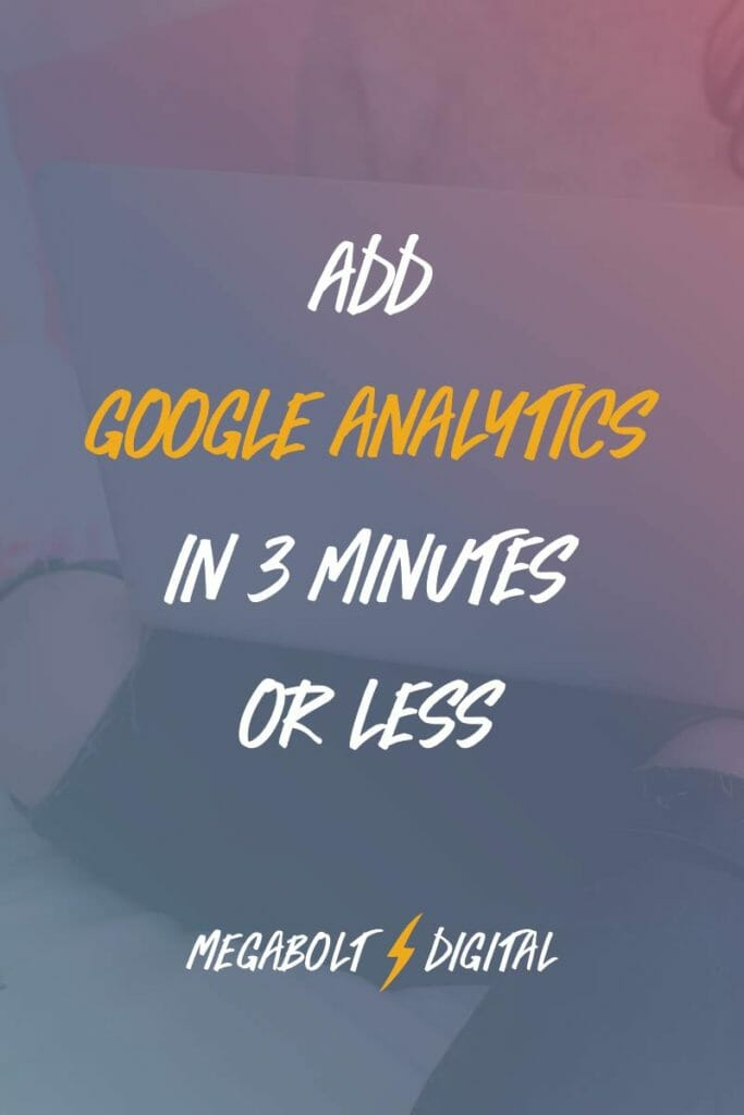 One of the most important invisible steps to launching your website is to add Google Analytics code. It's a free, easy way to review how your website is helping you achieve your goals and to gather important data about how to improve your performance.