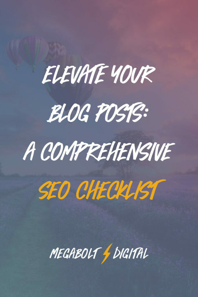 You could be writing the most amazing content on the internet (and I hope you are), but unless Google can easily understand what you're talking about, it won't display your blog posts in searches — even if you're asking the exact question that the search is asking! So here's an SEO checklist framework for structuring your blog posts, to simultaneously maximize your readers' understanding of your topic and increase your Google rank.