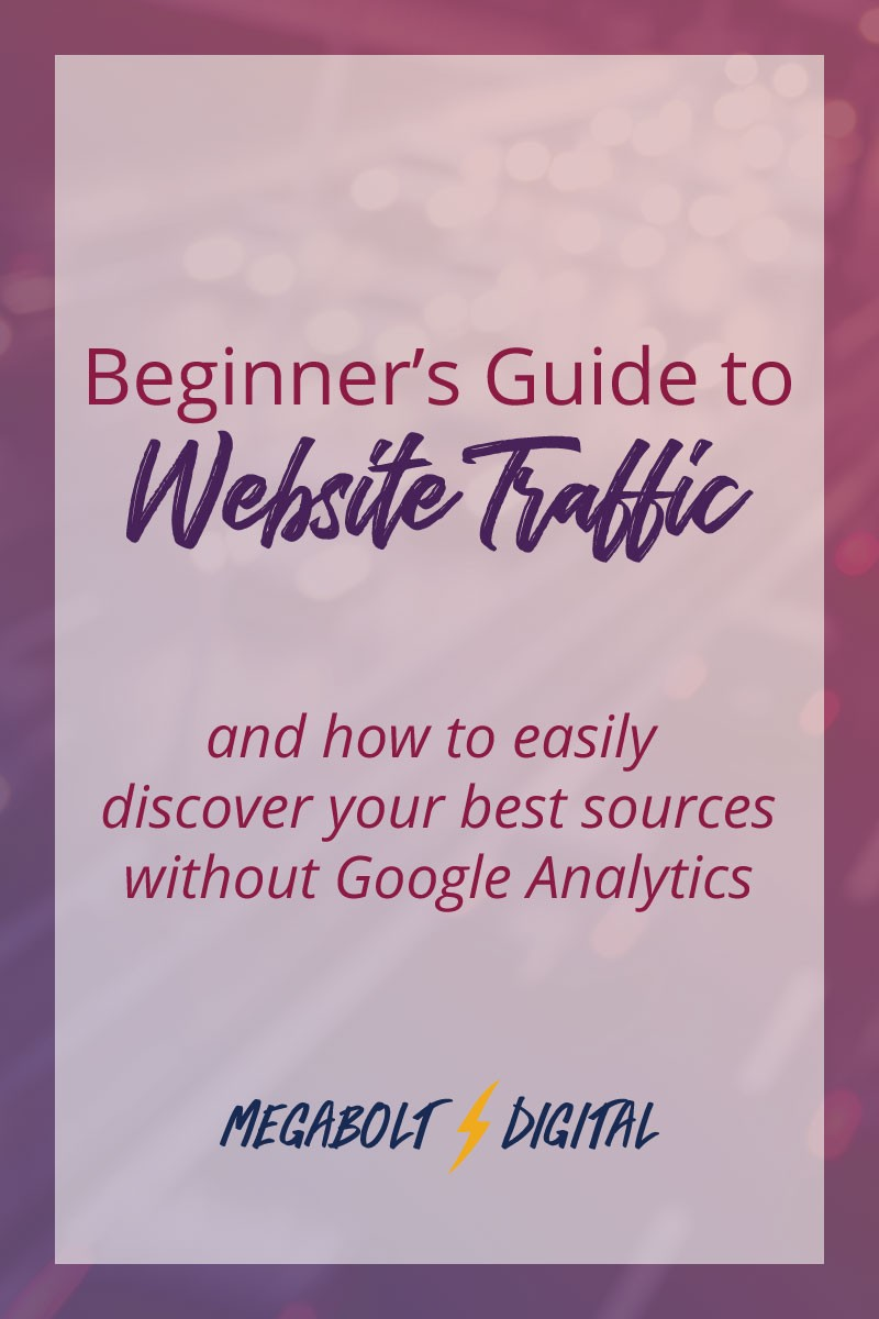 Besides organic search (which is what SEO works to improve), there are 3 traffic sources to get new visitors to your site. Check out this quick guide!
