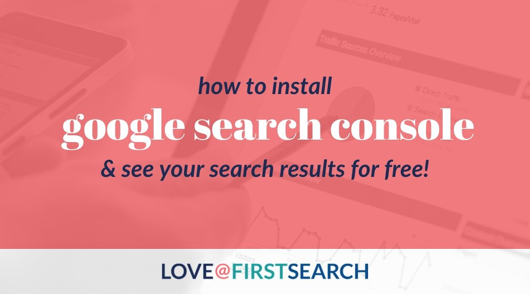 How to Install Google Search Console