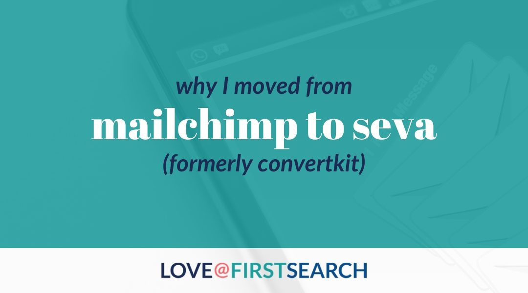 4 Reasons I moved from MailChimp to ConvertKit