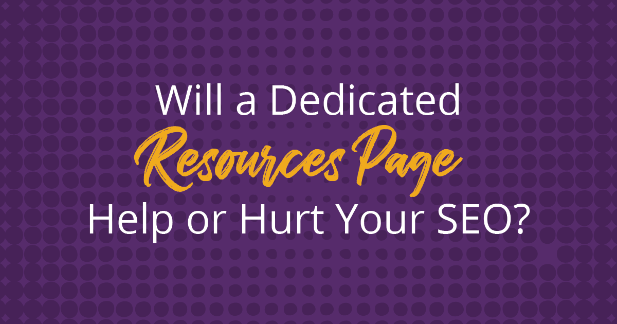 The answer to whether or not to share outbound links on your website is a resounding YES. Here are 4 reasons a resources page will help your website's SEO.