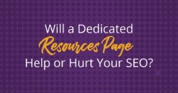 Will a Local Resources Page Help or Hurt Your Site's SEO?