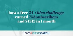 SEOctober: How a 24-video challenge earned 753 new subscribers + $1,512 in 1 month