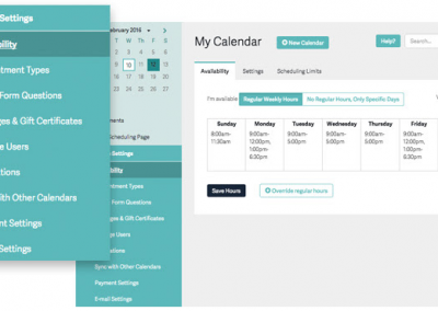 Best scheduling & calendar management tool: Acuity