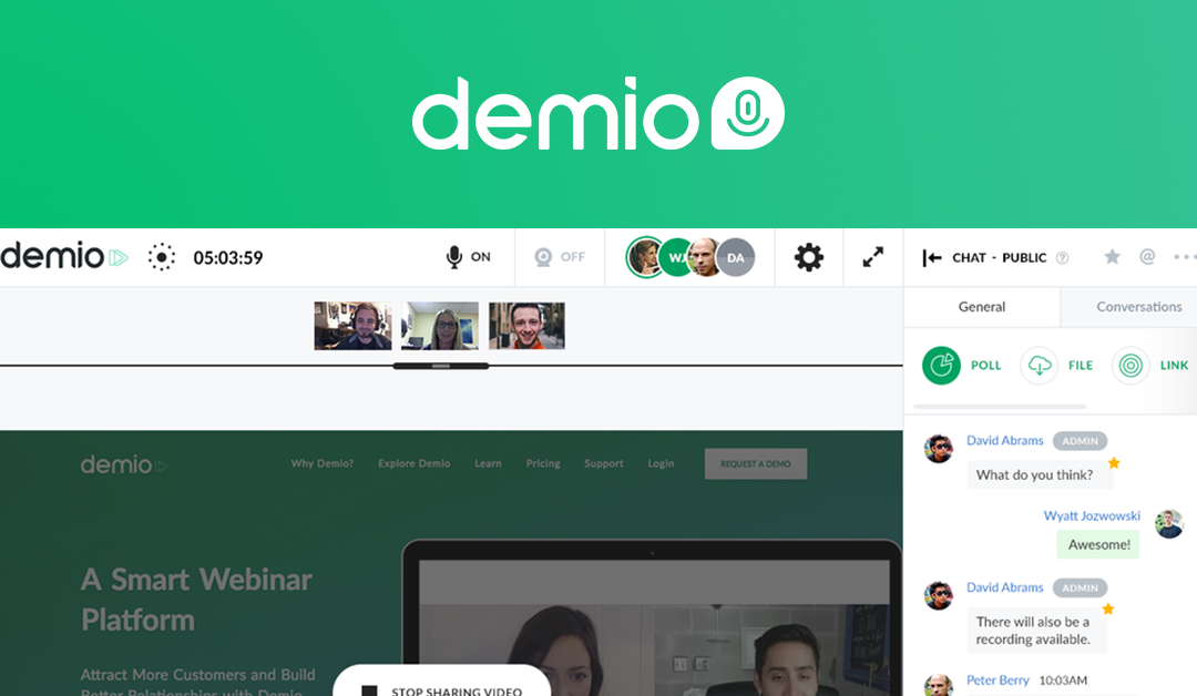Webinars: Demio