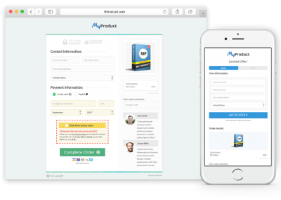 Payment processor & affiliate center: ThriveCart