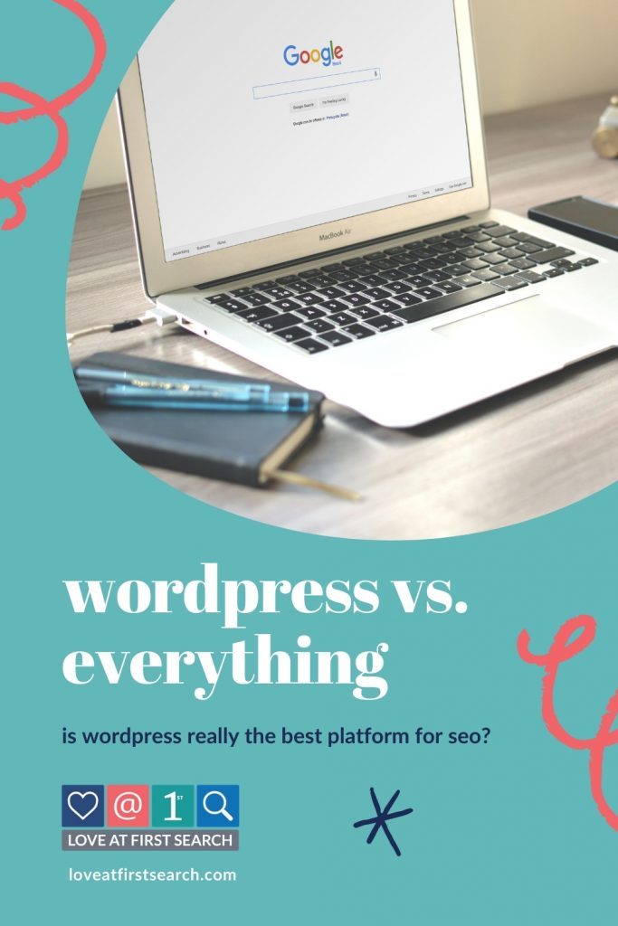 One of the questions that I get the most often when it comes to SEO is whether or not your website has to be on WordPress for Google to want to share it.