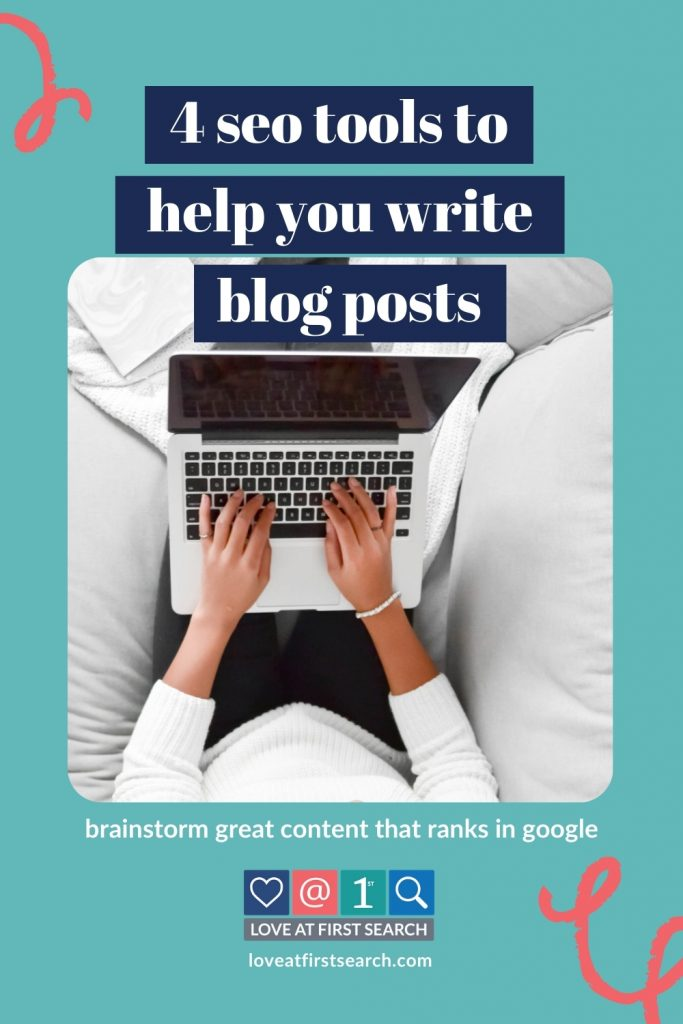 Whether you're a prolific content creating machine or you're just getting started blogging, there will come a time when you can't come up with any brilliant ideas. Luckily, I've got 4 tools that I go to whenever I need to start my blog idea brainstorm.
