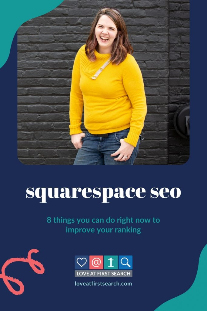 Squarespace is great for beautiful websites with minimal coding that integrate with everything. Unfortunately, SEO can be a bit confusing ... until you check out this tutorial & free Squarespace SEO checklist!