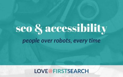 People over Robots: How to balance web accessibility and SEO standards