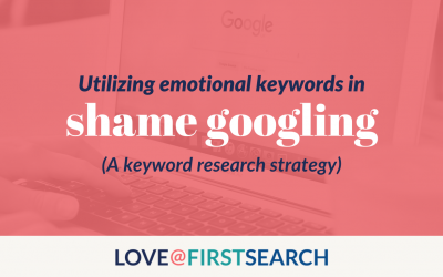 shame googling? yes, it's an actual thing.
