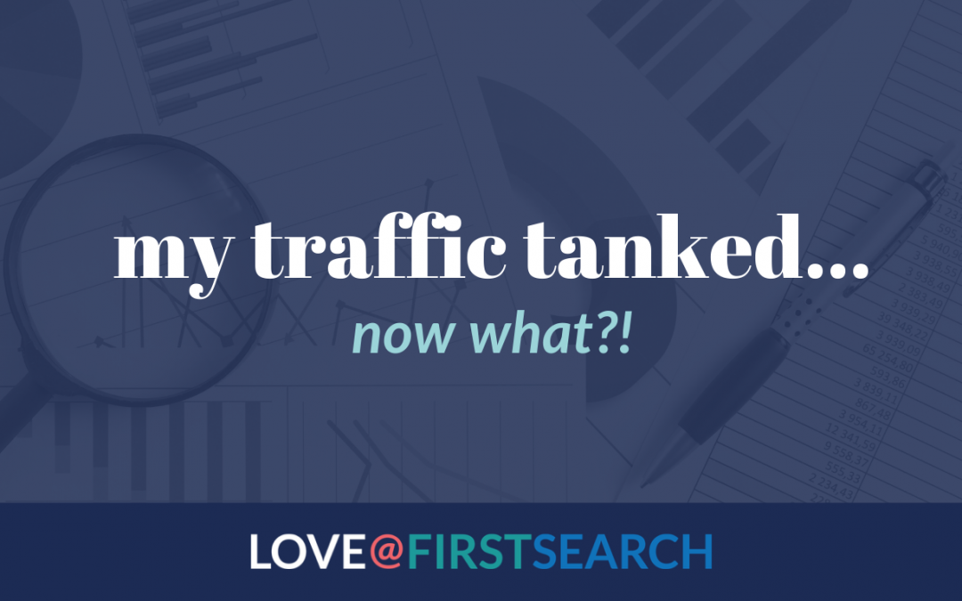 my traffic dropped, now what?